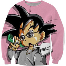 Kid Goku Where's My Money At? Sweater Dragon Ball