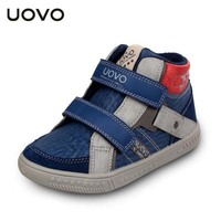 UOVO Brand Sneakers Children Autumn Winter Outdoor Sport Shoes Casual Kids Boys High Quality Running Shoes