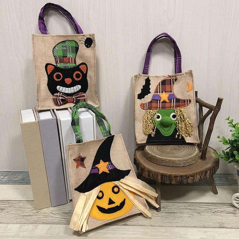 Halloween Wedding Gift Ideas: Halloween Gift Bag Trick Or Treat Drawstring Candy Bags