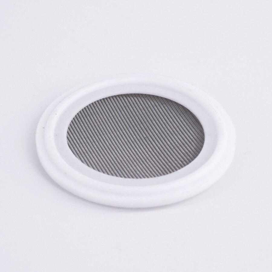 100/150 Mesh Fit 1.5 2 Tri pince PTFE joint joint joint bande 304 inoxydable sanitaire écran maison brassage vin qualité alimentaire