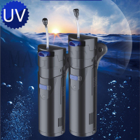 Multifunctional Ultraviolet germicidal lamp and internal filter pump for aquarium SUNSUN GRECH UV lamp CUP 803 805 807 809