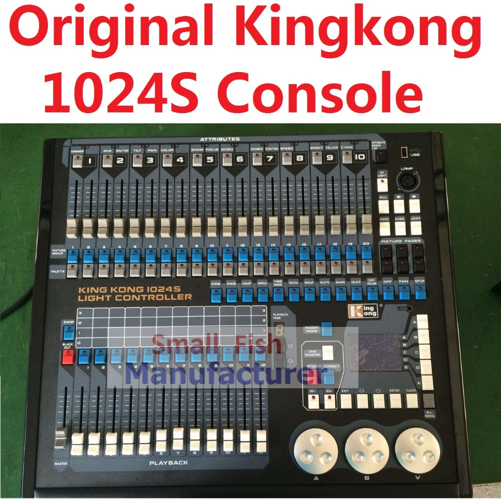 2016 Original Kingkong 1024S Light Controller 1024 DMX512 Control 120pcs Stage Lights Professional DJ Disco Moving Light Console single electron devices and circuits design
