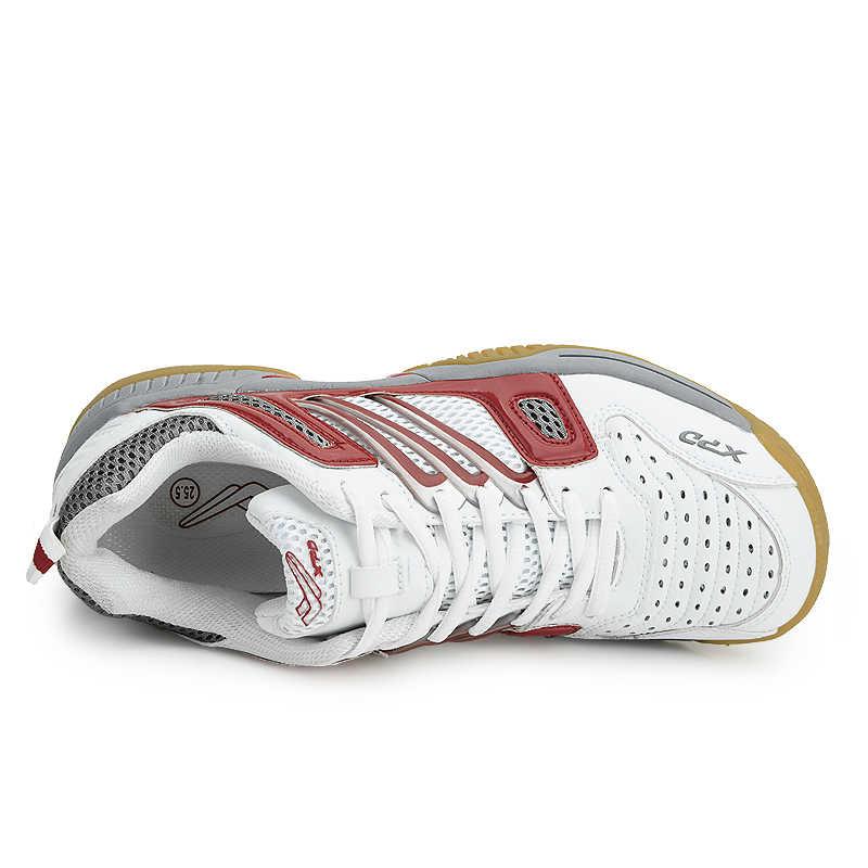 Erkekler Kadınlar Tenis Sneakers Nefes tenis masası Ayakkabı Unisex Profesyonel Kapalı spor ayakkabı Erkekler için yüksek kaliteli ayakkabılar