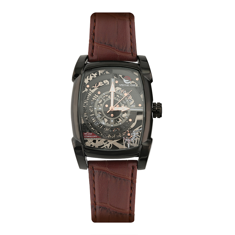 Mens Watches Top Brand Luxury Casual Leather Quartz Clock Male Sport Waterproof Watch Gift Gold Watch Men Relogio Masculino in Women 39 s Watches from Watches