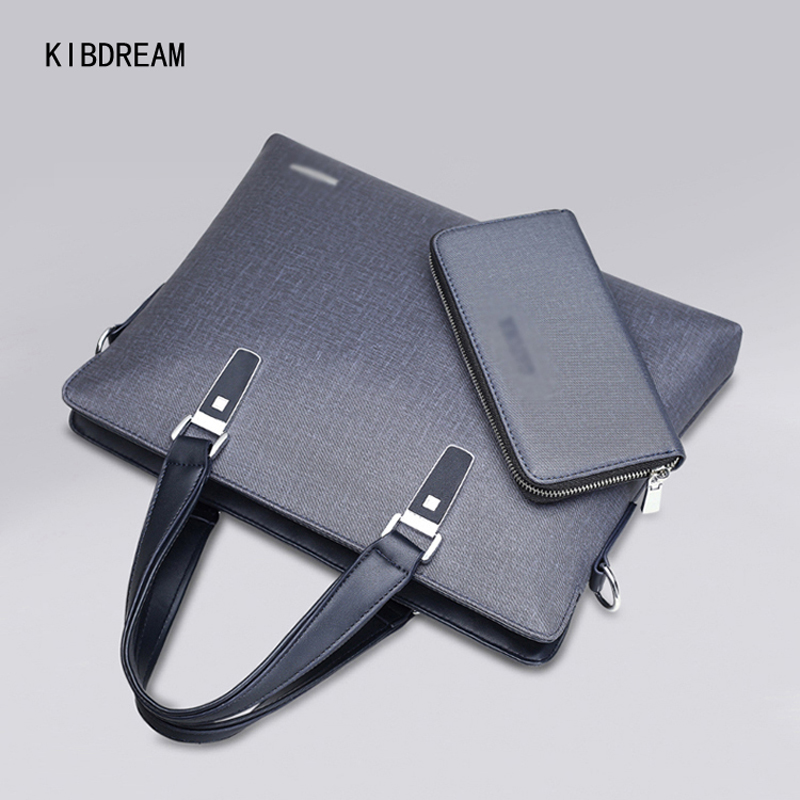 ФОТО KIBDREAM  Cheaper PVC Briefcases Men Bag/Crossbody and Tote Handbags Business Messenger Of Bill Of Lading free Shipping