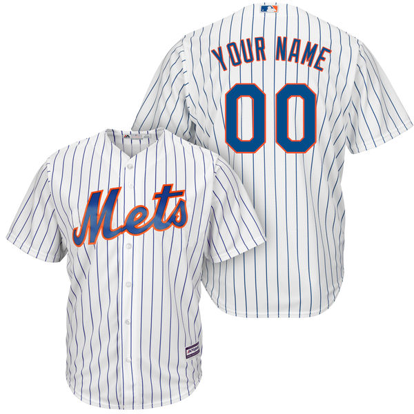 2018 Top MLB New York Men s Mets Cool Base Custom Baseball Jersey-in ... 51947afddca