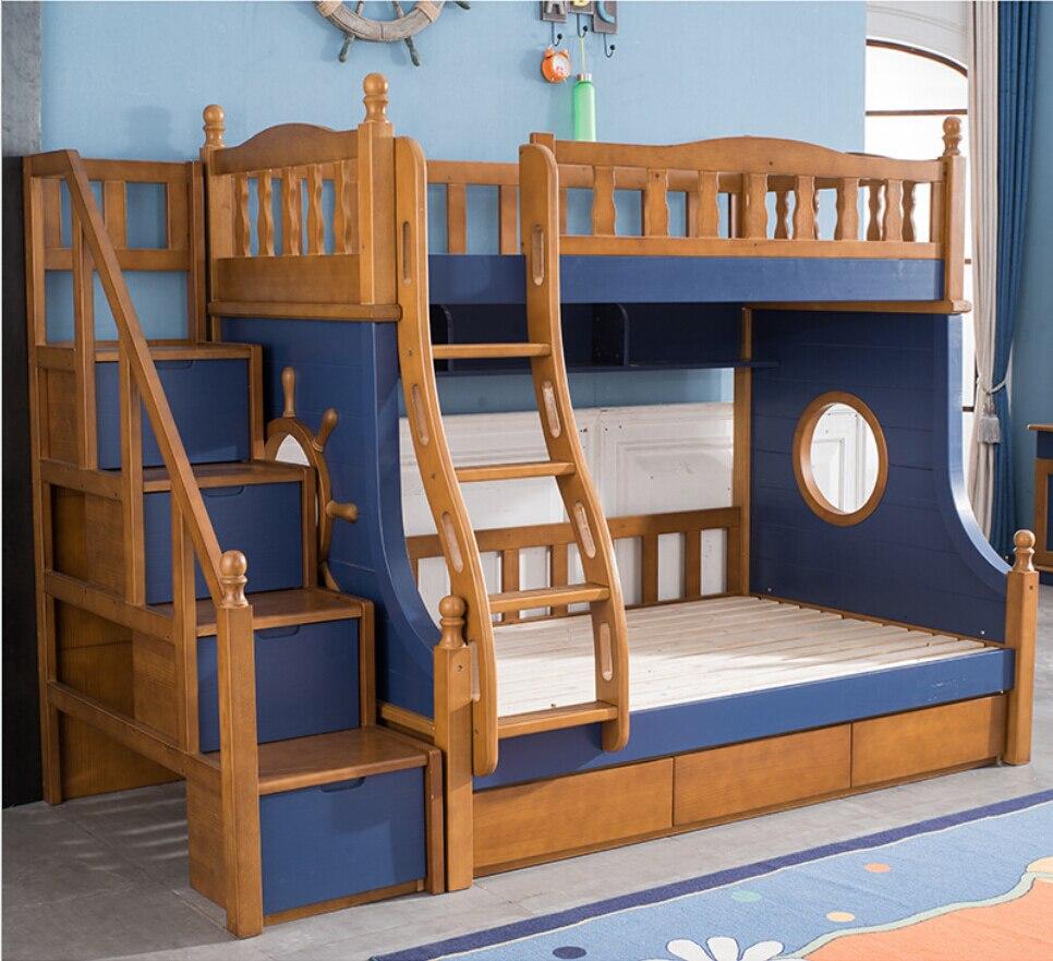 Webetop Mediterranean Style Furniture Cartoon Bunk Bed For ...