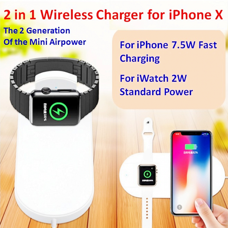 Charger-Pad Airpower Sumsang S7edge Iwatch Fast-Charging IPhone X Wireless For 8/8plus