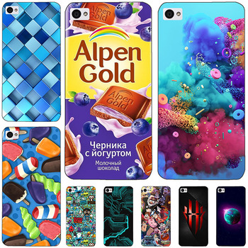 For Lenovo S90 Case Cover Mermaid Painting Hard Plastic For Lenovo S90 S 90 Case Phone Protective Back For Lenovo S90 5.0 Case image