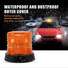 Lampu Emergency Lampu Polisi Amber DC12V 24V Dipasang Peringatan Flash Beacon Safety Strobe(China)
