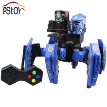 2.4G Intelligent Robot  Warrior Science Fiction Robot RC Multi-function Armor Warrior 6 Leg walking  with Cool Appearance Robot