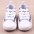 Spring Infant Toddler Shoe English Flag Pattern Kids Gym Shoes Unisex  Soft Sole Sneaker Prewalker First Walker 3-12 M tyh-50387
