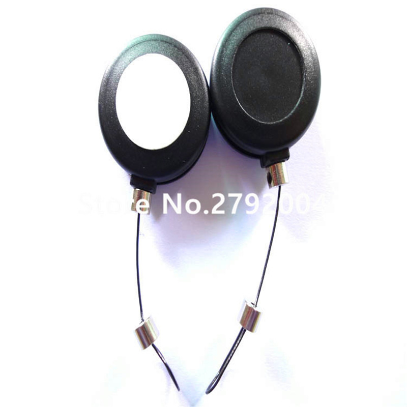 50pcs/lot Wholesale high quality anti-theft retractable display pull box/ recoiler for glasses,jewelry,mobile phone low price for 2 pcs hotel 3m retractable belt vip crowdcontrol retractable tensa barriers queue way post