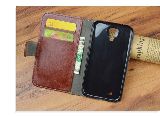 Luxury Flip PU Leather Case For Samsung Galaxy S4 i9500 GT-i9500 GT-i9505 i9505 i9506 Phone Bag Vintage Cover JR Brand
