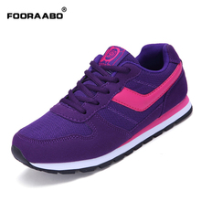 fooraabo fashion women shoes black summer breathable women casual shoes zapatos mujer students girls shoes flats tenis feminino