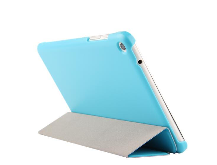 For Huawei Mediapad T1 8.0 T1-823L T1-821W Tablet 3 Folding Folio Stand PU Leather Case Ultra Slim Flip Cover Protective Shell