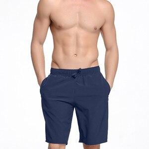 Векторные брендовые быстросохнущие плавательные пляжные шорты с карманами, мужские пляжные шорты, мужские купальные плавки, купальные пла...