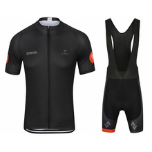 New Pro Cycling Jersey Set STRAVA Clothing Breathable Mountain Bike Clothes Quick Dry Bicycle Sportswear