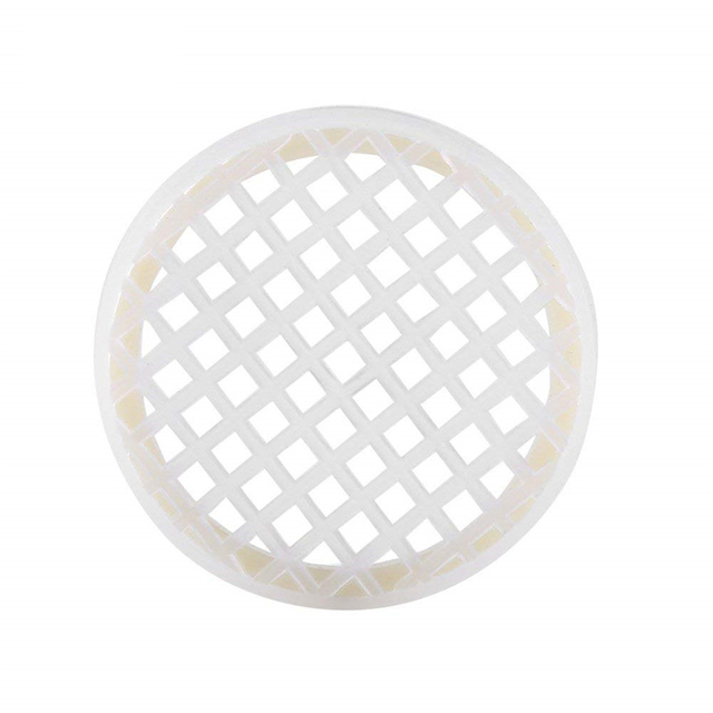 DLKKLB Beekeeping Tools 5pc Infertility Queen Cage Beekeeping King Cage Prisoners Plastic White King Prisoner Cage Bee Equipment