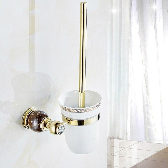Wundervoll Aliexpress.com : Europäischen Gold Kupfer Poliert Wc bürstenhalter  QN89