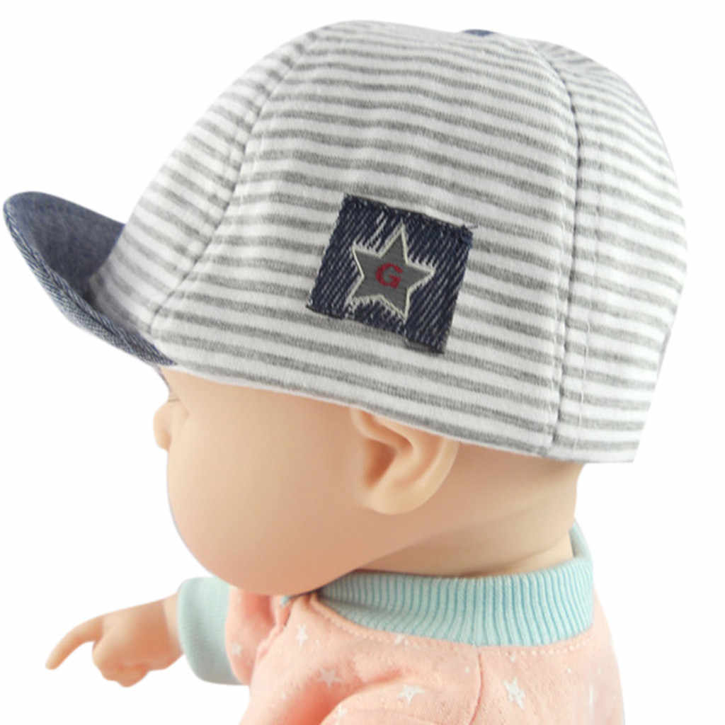 Huang Neek W#5 NEW FASHION Toddler Baby Girl Boy Cute Letter Soft Eaves Baseball Cap Sun Beret Hat Striped Hot Free Shipping