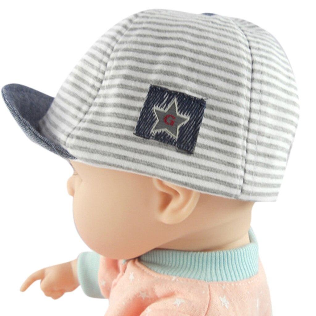 Huang Neek W#5 NEW FASHION Toddler Baby Girl Boy Cute Letter Soft Eaves Baseball Cap Sun Beret Hat Striped Hot Free Shipping