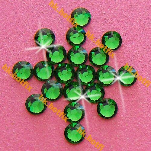 ss7 GENUINE Swarovski Elements Fern Green (291)  346f3bcc9be1