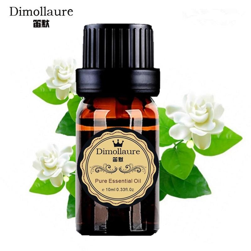 Dimollaure jasmínový esenciální olej Relax emoce vůně lampy zvlhčovač Aromaterapie péče o pleť rostlinný esenciální olej