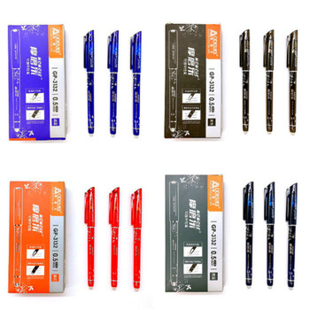1p Erasable New Manifold Ballpoint Pen Multifunctional Tool Pen Fashion Creative Stylus Stationery Writing Pen School Ball Pen Ballpoint Pens
