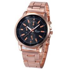 2017 Dignity Women's Fashion Casual Sport Watches Stainless Steel Hour Wrist Analog Quartz Watch Clock Dec 1