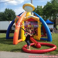 World Inflatable Sports Games Including Baseball , Basketball , Football For Event