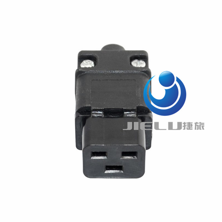 Universal 250V 16A Standard IEC320 C19 AC Electrical Power Cable Cord Connector PDU Removable socket plug,50 pcs high power c13 to universal 3 prong converter ac socket for pdu ups server iec320 c14 plug 2500w