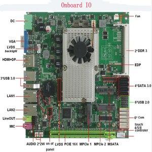 Image 2 - Scheda madre industriale Mini ITX Fanless del processore Intel core i5 3210M integrata