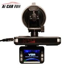 2 en 1 720 P HD de Vision Nocturne De Voiture DVR Caméra Vidéo Enregistreur Auto Dash Cam + Radar Laser Détecteur de Vitesse pour Russe Détecteur de Radar