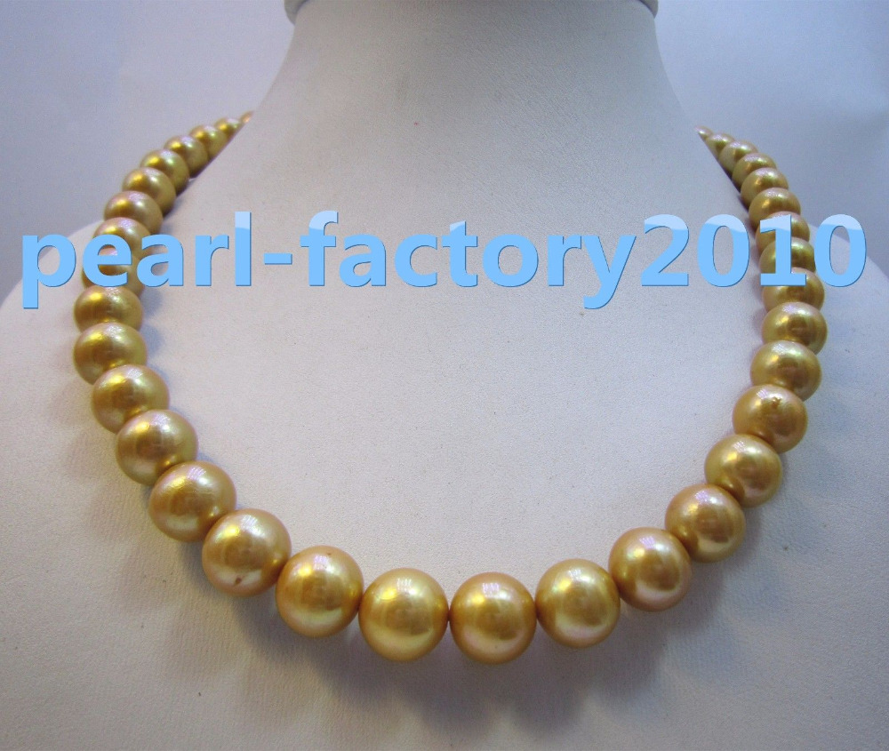 golden 18 AAA+ 11-12MM SOUTH SEA NATURAL PEARL NECKLACE YELLOW GOLD CLASP >>>hot Sell necklace pendant Free shippinggolden 18 AAA+ 11-12MM SOUTH SEA NATURAL PEARL NECKLACE YELLOW GOLD CLASP >>>hot Sell necklace pendant Free shipping