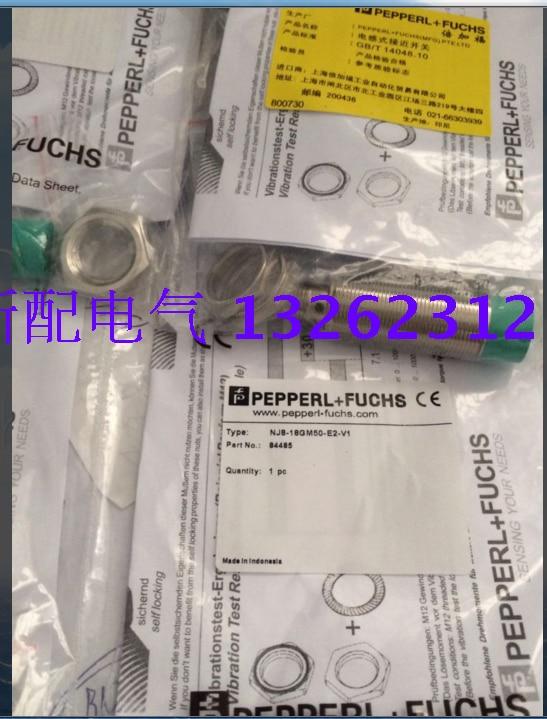NJ8-18GM50-E0 NJ8-18GM50-E2 NJ8-18GM50-E0-V1 NJ8-18GM50-E2-V1  P+F Inductive Proximity Switch Sensor  New High-Quality NJ8-18GM50-E0 NJ8-18GM50-E2 NJ8-18GM50-E0-V1 NJ8-18GM50-E2-V1  P+F Inductive Proximity Switch Sensor  New High-Quality
