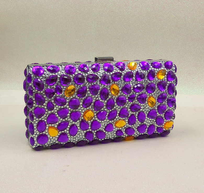 Compare Prices on Purple Evening Bags Clutches- Online Shopping ...