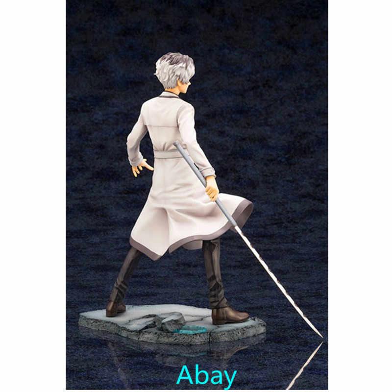 Tokyo Ghoul Kaneki Ken Haise Sasaki One-Eyed Rei Cabelo Cor Instável Adolescente ARTFX J Decoração Figura de Ação DO PVC CAIXA de brinquedos Y62