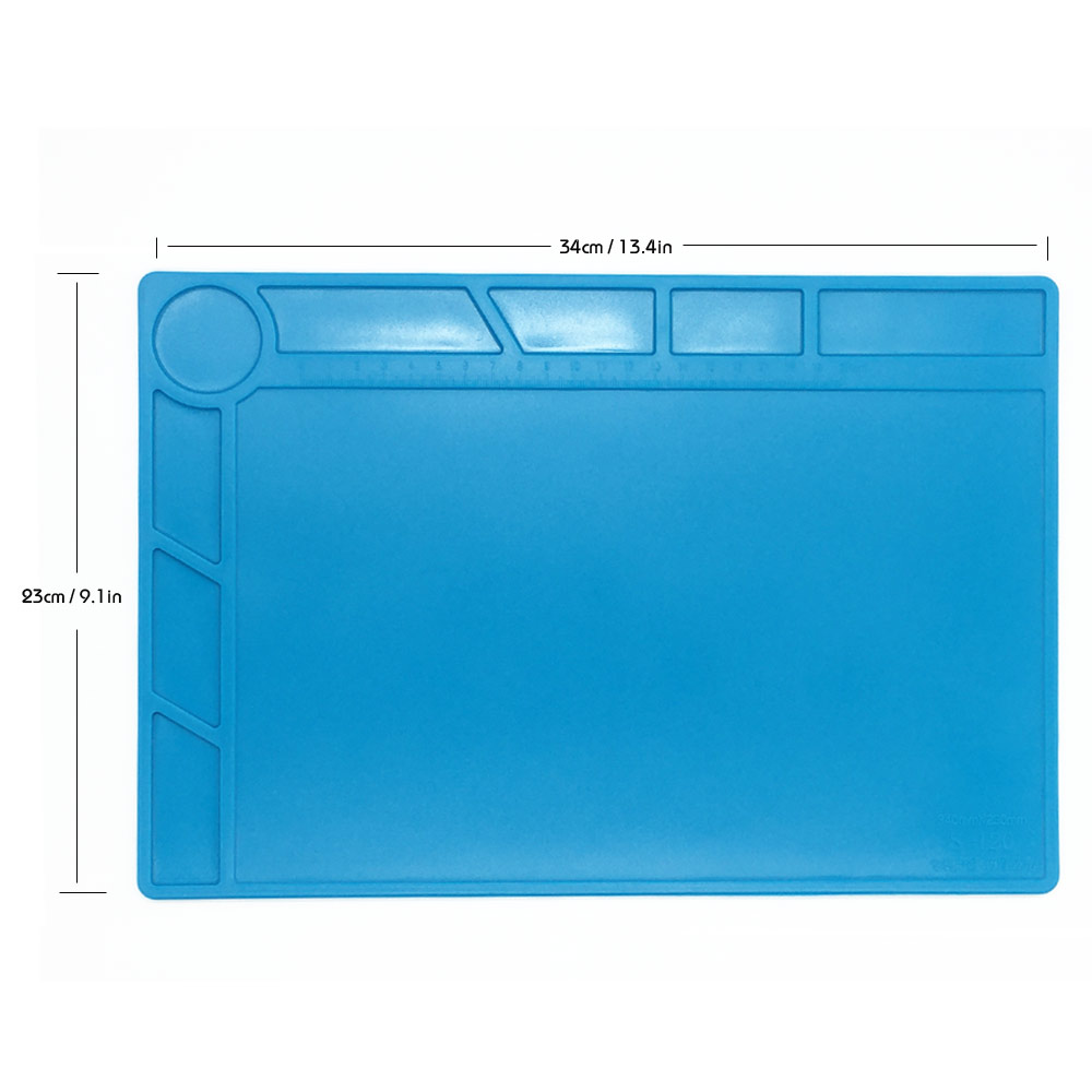 34x23cm con 20 cm scala righello isolamento termico pad in silicone - Set di attrezzi - Fotografia 1