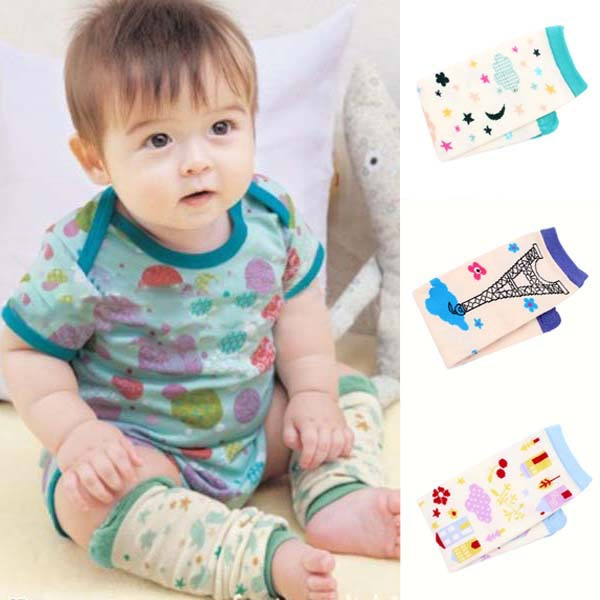 Mulit Cartoon Pattern Kids Baby Socks Cotton Warm Kneepad Protection Leg Warmers