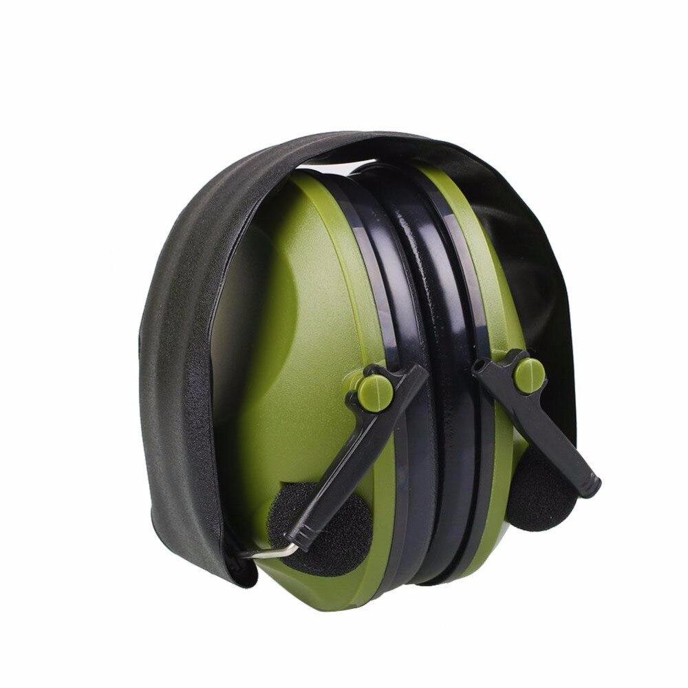 Anti-Noise Earmuffs 21SNR Ear Protector Impact Electronic Earmuff Fold Ear Hearing Earmuffs Outdoor Hunting Shooting Ear Muffs