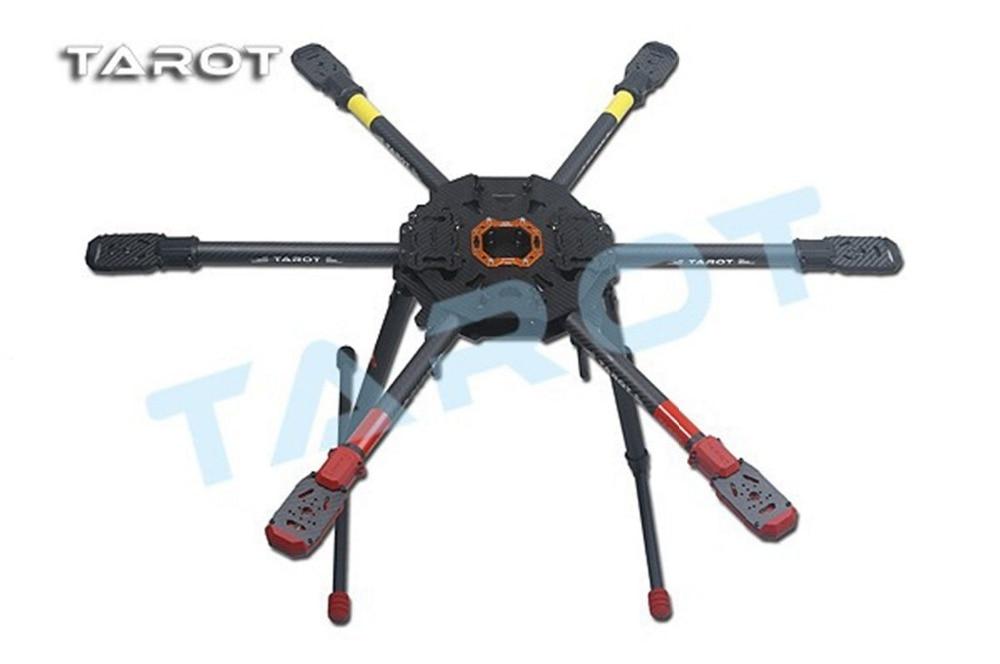 F11289 Tarot 810 FPV 6-AxleHexacopter TL810S01 Electric Retract Landing Skid tarot rc 75 degree all metal cnc large scale electric retractable landing gear skid tripod load 30kg tarot tl4n004 diy drone