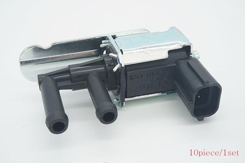 10piece/1set Auto Solenoid Valve Vacuum Valve K5T48279 K5T48298 Z504-18-741 for For MAZDA 6 626 6 RX-8 Miata MX-5 MPV Protege pc400 5 pc400lc 5 pc300lc 5 pc300 5 excavator hydraulic pump solenoid valve 708 23 18272 for komatsu