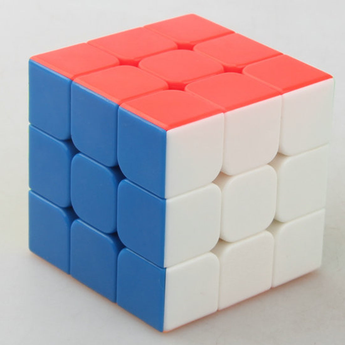 Surwish YJ RuiLong Magnetic 3x3 Magic Cube Educational Toys For Brain Trainning - Colorful