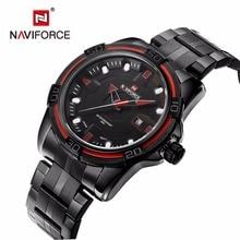 NAVIFORCE Men's Sports Watches luxury brand fashion Waterproof Quartz -Watch Man Army Military Wristwatches relogio masculino