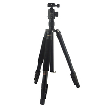 Professional Aluminum Camera Tripod With Adjustable Legs 4 Section