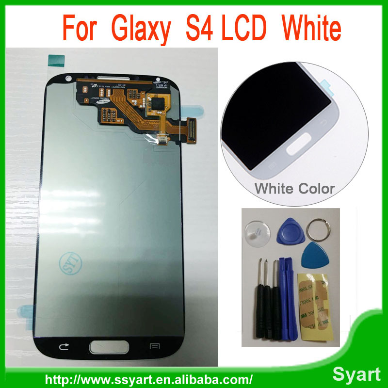 ФОТО S4 LCD Display Touch Screen 100% work well Digitizer Assembly Replacement Accessories For Samsung Galaxy S4 I9505 i9500 i337l720