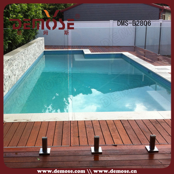 Removable For Flooring Mounted Temporary Swimming Pool Fence And