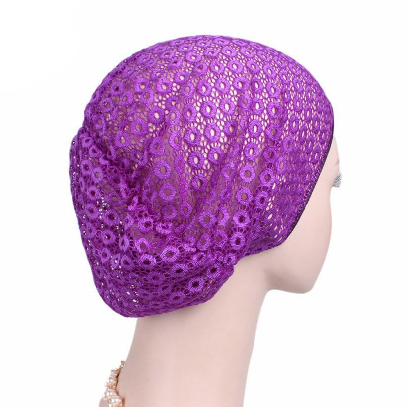 Femei   s pălării 2017 Women Cancer Chemo Hat Beanie Scarf Turban Head Wrap  Cap Headdresses For Women Touca Inverno Feminina  EW 1202d7e89f7