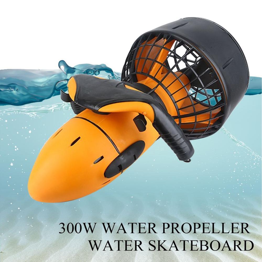 Sports nautiques équipement de plongée Submersible hélices sous-marines natation surf plongée Scooters d'eau pièces d'outils livraison directe
